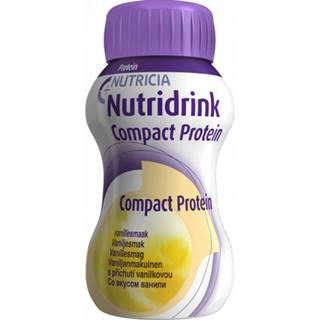 NUTRIDRINK COMPACT PROTEIN s príchuťou vanilka 24x125 ml