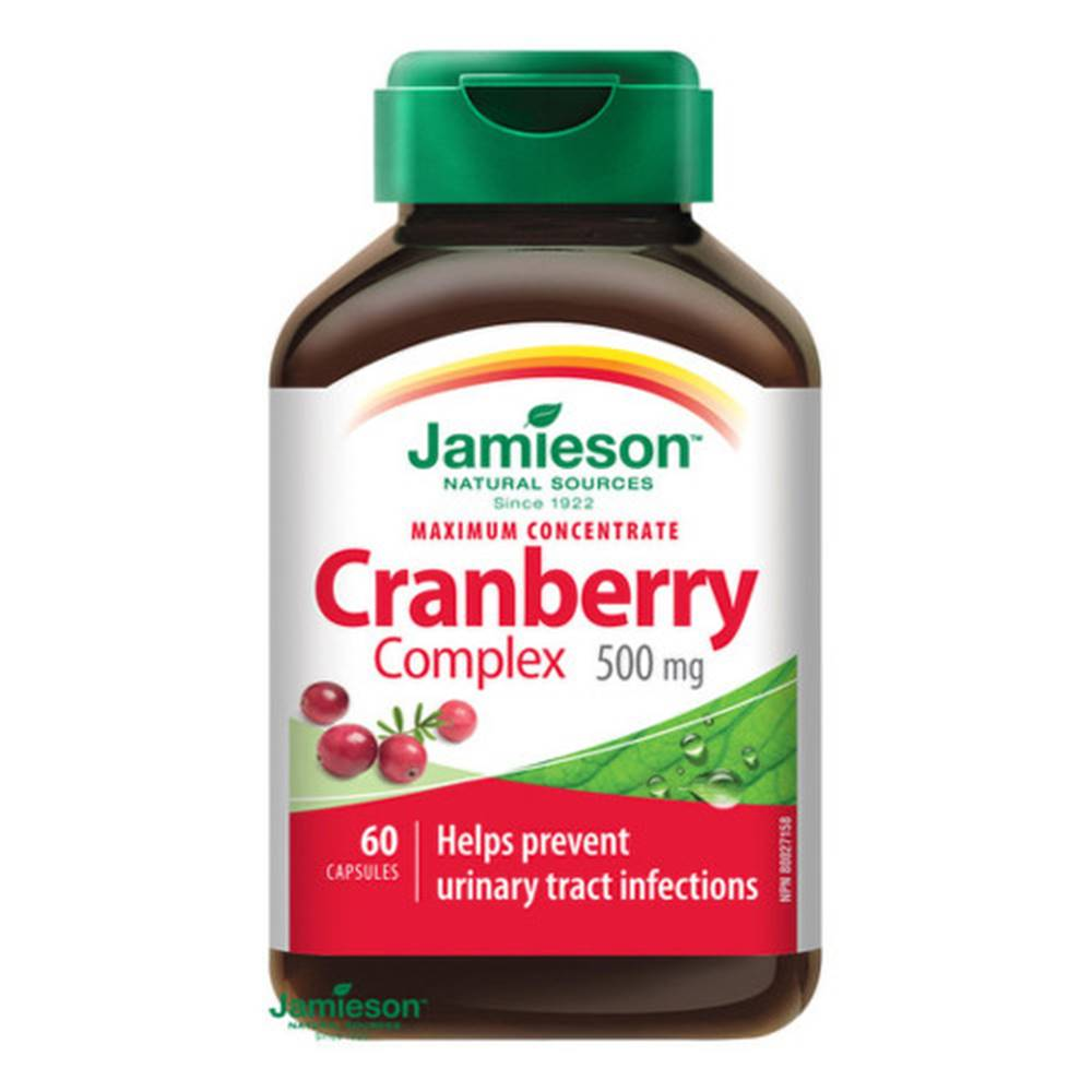Jamieson JAMIESON Brusnice - komplex 500 mg 60 kapsúl