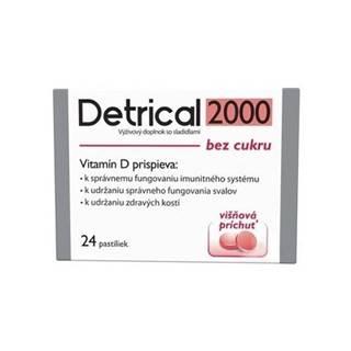 DETRICAL 2000 Vitamín D s višňovou príchuťou 24 pastiliek
