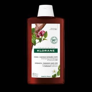 KLORANE Šampón s chinínom a BIO plesnivcom alpínskym 400 ml
