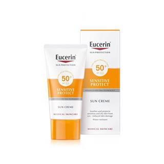 Eucerin Sensitiv Protect krém na opaľovanie na tvár SPF 50 50ml
