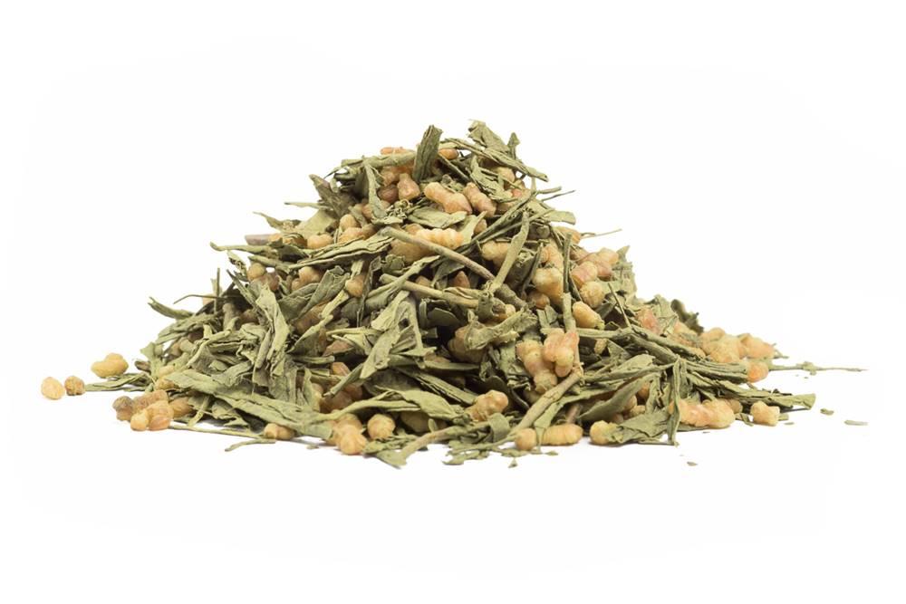 Manu tea JAPAN GENMAICHA KOHKI WITH MATCHA - zelený čaj, 10g