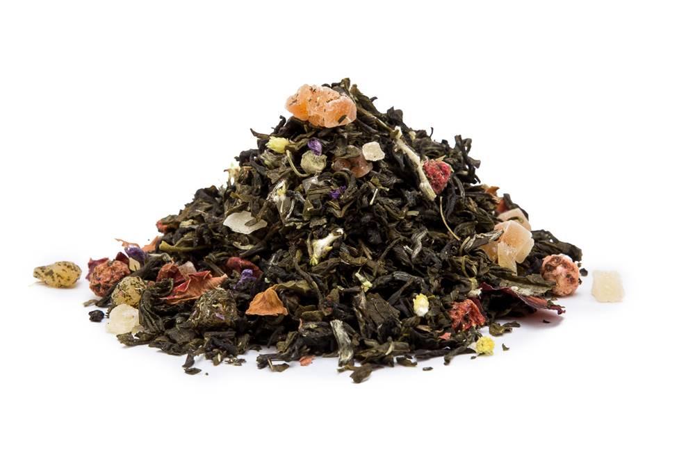 Manu tea ČERVENÉ RÍBEZLE S JAHODOU - biely čaj, 10g