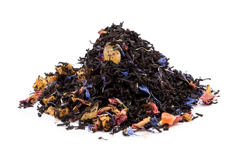 Manu tea OČARUJÚCE MANGO S BROSKÝŇOU - čierny čaj, 10g