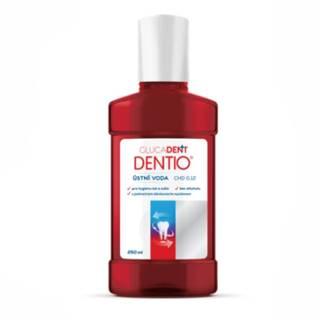 GLUCADENT dentio ústna voda, 0,12% chlorhexidin 250 ml