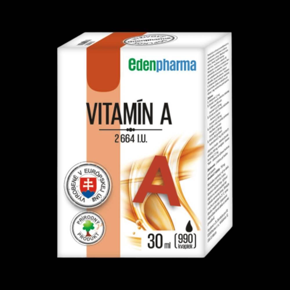 Edenpharma EDENPHARMA vitamín A 2664 I.U. 30 ml