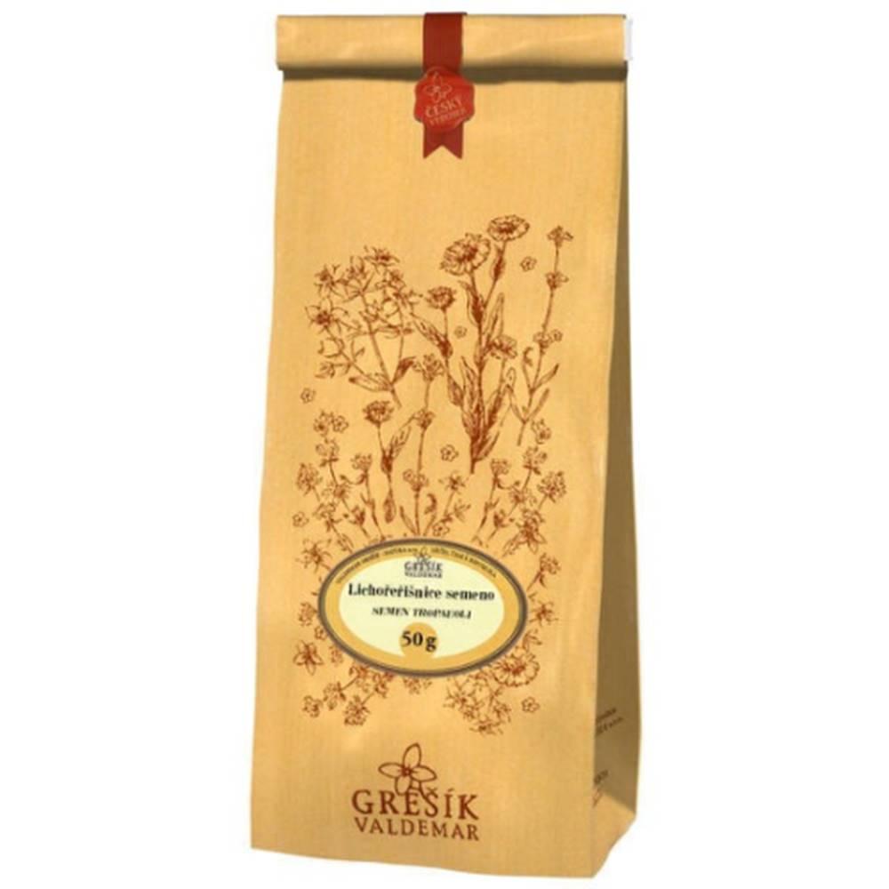 Grešík GREŠÍK Čaj kapucínka semeno 50 g