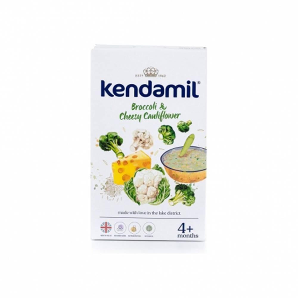 Dranex s.r.o. KENDAMIL Jemná zeleninová kaša so syrom brokolica, karfiol 150 g