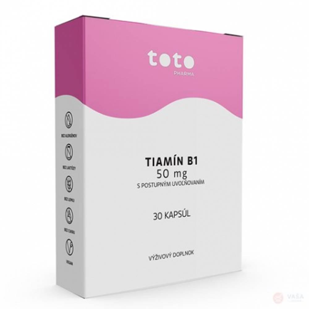 TOTO Pharma s.r.o. TOTO Tiamín B1 50 mg s postupným uvoľňovaním 30 cps
