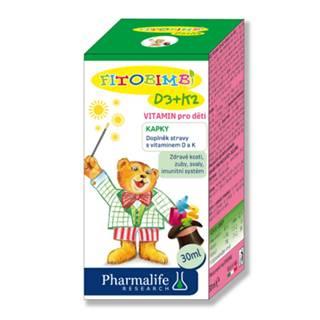 PHARMALIFE Vitamín D3 + K2 pre deti kvapky 30 ml
