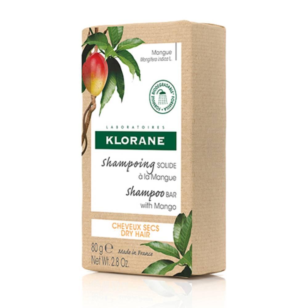 Klorane KLORANE Tuhý šampon s mangom na suché vlasy 80 g