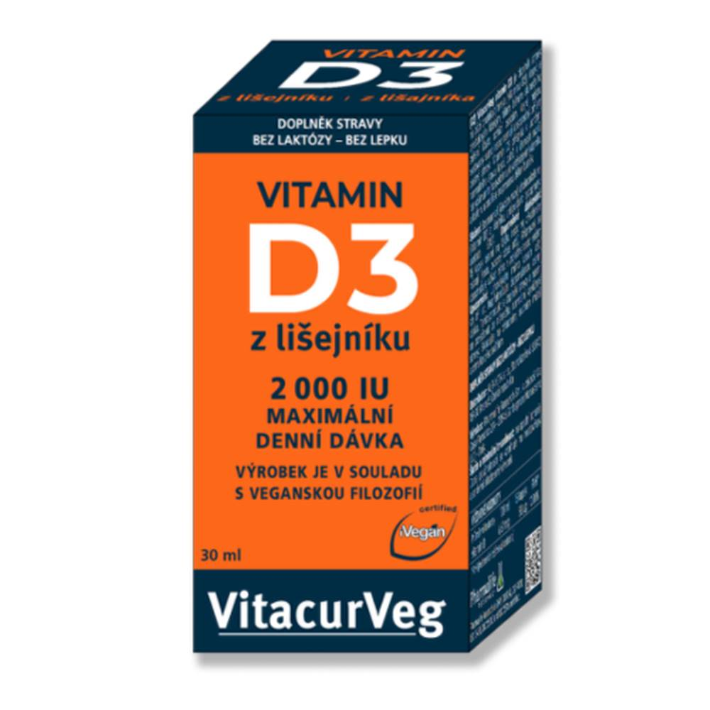 Pharmalife PHARMALIFE Vitamín D3 z lišajníka 2000 IU kvapky 30 ml