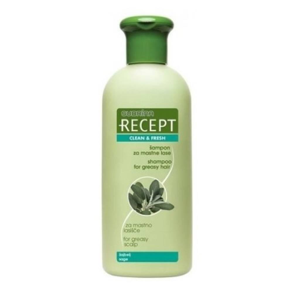 SUBRÍNA SUBRÍNA RECEPT clean fresh šampón proti mastným vlasom 400 ml