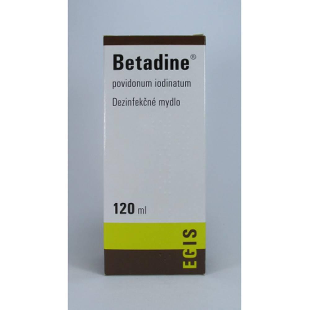 Egis Pharmaceuticals Betadine dezinfekčné mydlo 120 ml