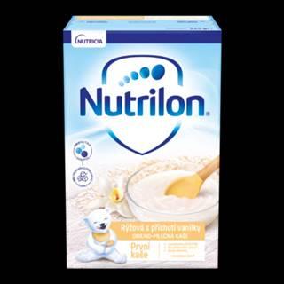 NUTRILON Obilno-mliečna prvá kaša ryžová s príchuťou vanilky 225 g