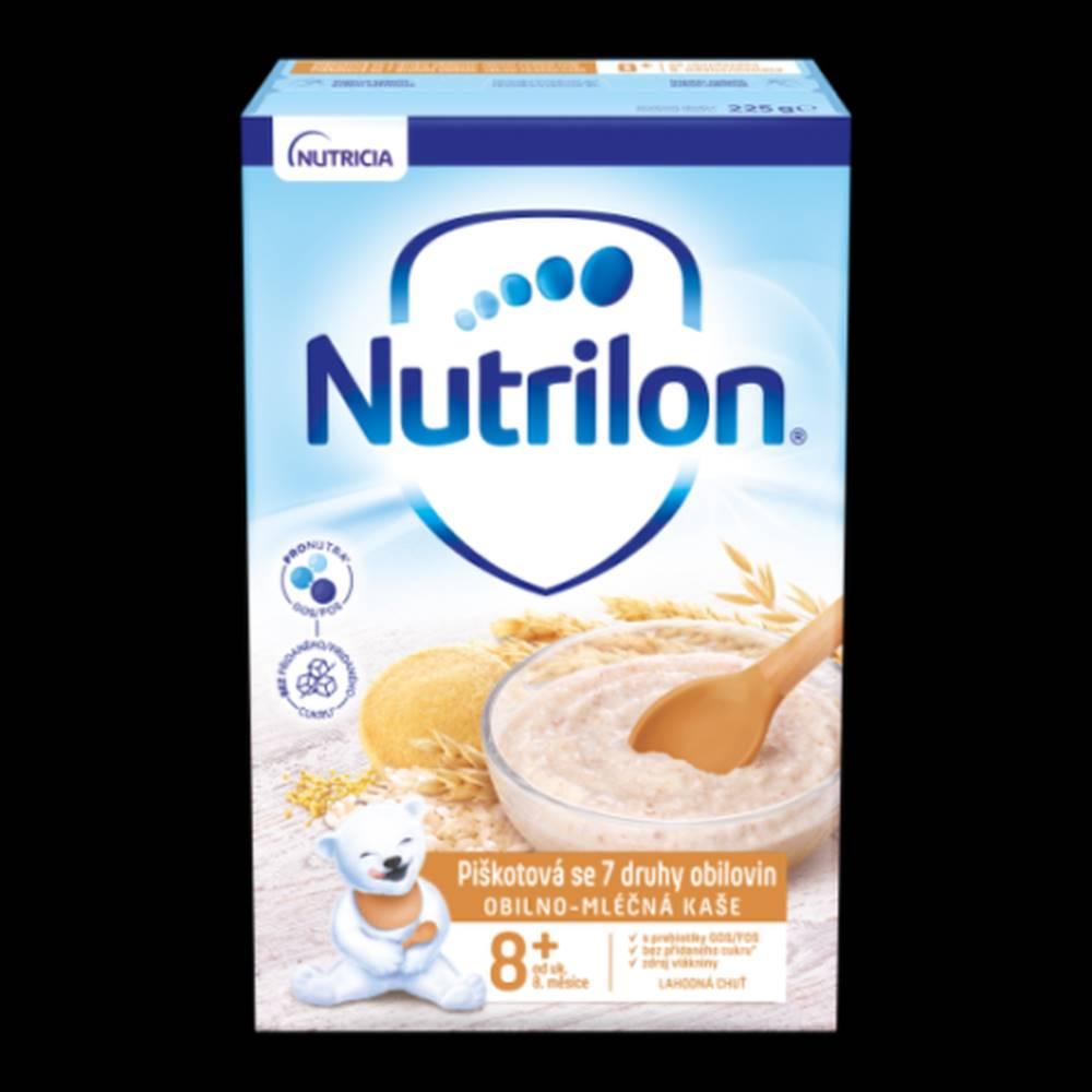 NUTRILON NUTRILON Obilno-mliečna kaša piškotová 225 g