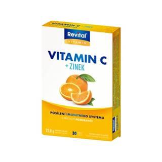 Revital Vitamín C+ zinok 30 tbl