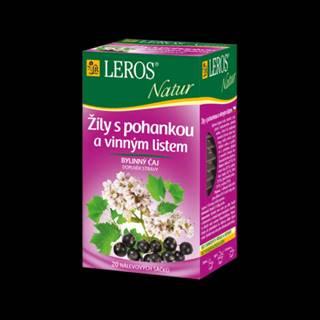 LEROS Čaj na žily 20 x 2 g