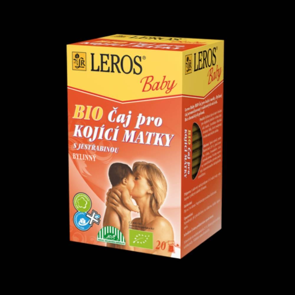 Leros LEROS BIO čaj pre dojčiace mamičky 20 x 2 g