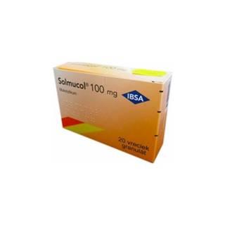 Solmucol 100 mg granulát 20 sáčkov