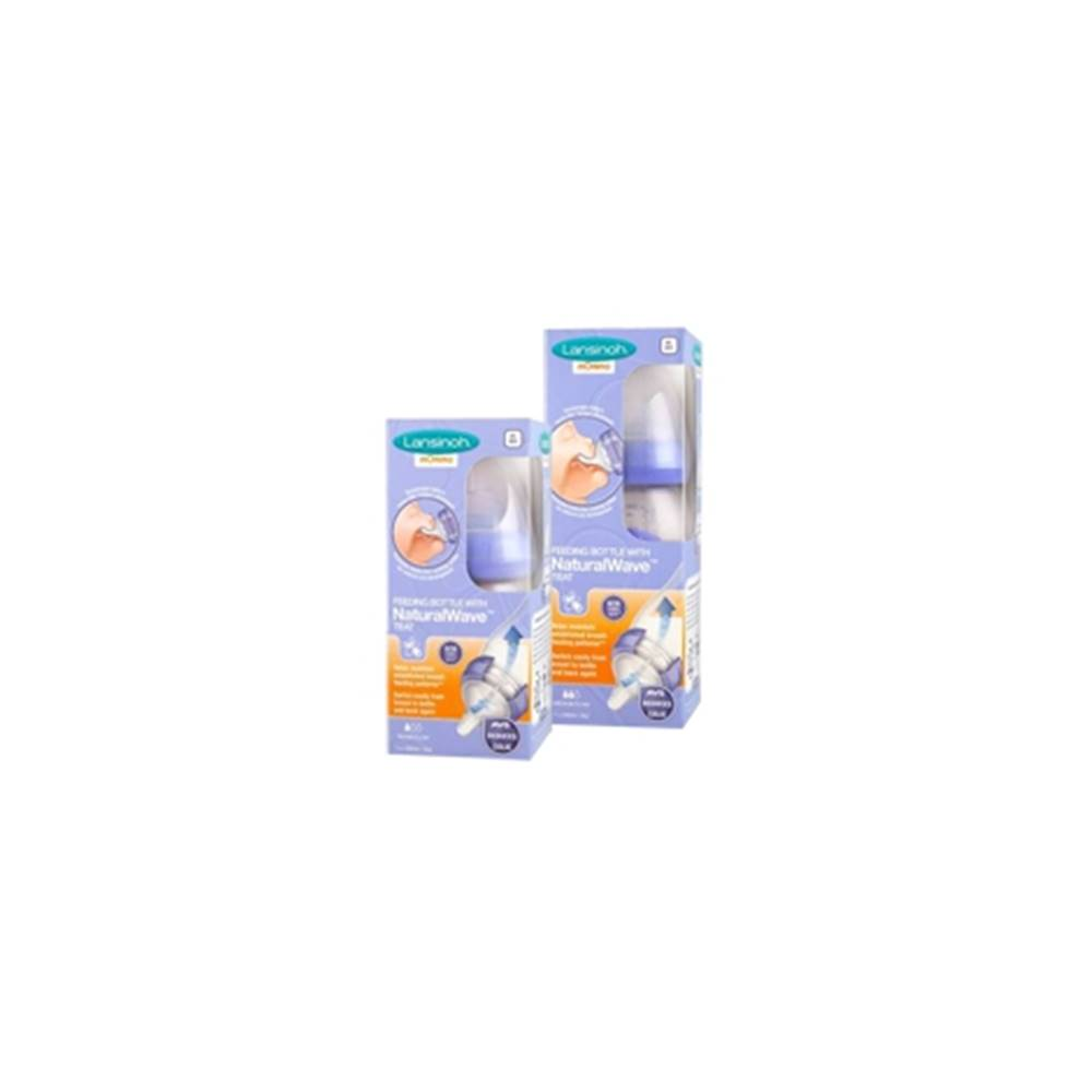 Lansinoh Dojčenská fľaša s NaturalWave cumľom 240 ml 1 ks