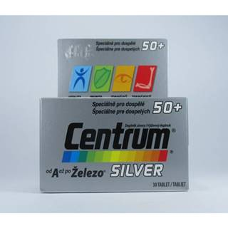 Centrum Silver 50+ s Multi-Efektom 30 tbl