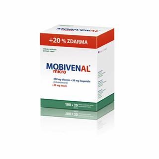 Mobivenal Micro 100 + 20 tbl