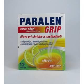 Paralen grip horúci nápoj citrón 12 sáčkov
