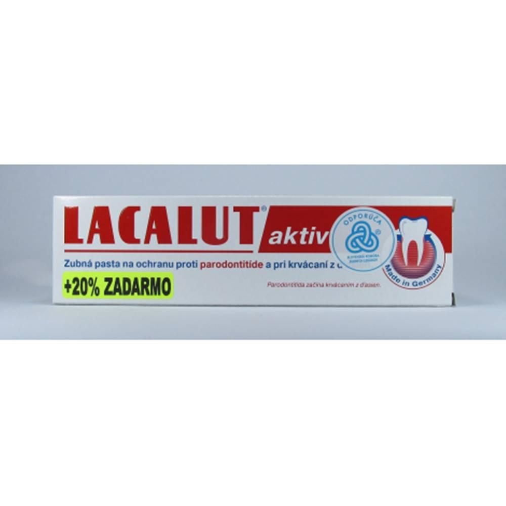 Lacalut Aktiv zubná pasta 100 ml proti paradontitíde