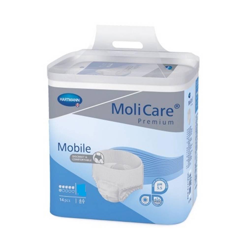 MoliCare Premium Mobile 6 kvapiek L plienkové nohavičky naťahovacie 14 ks