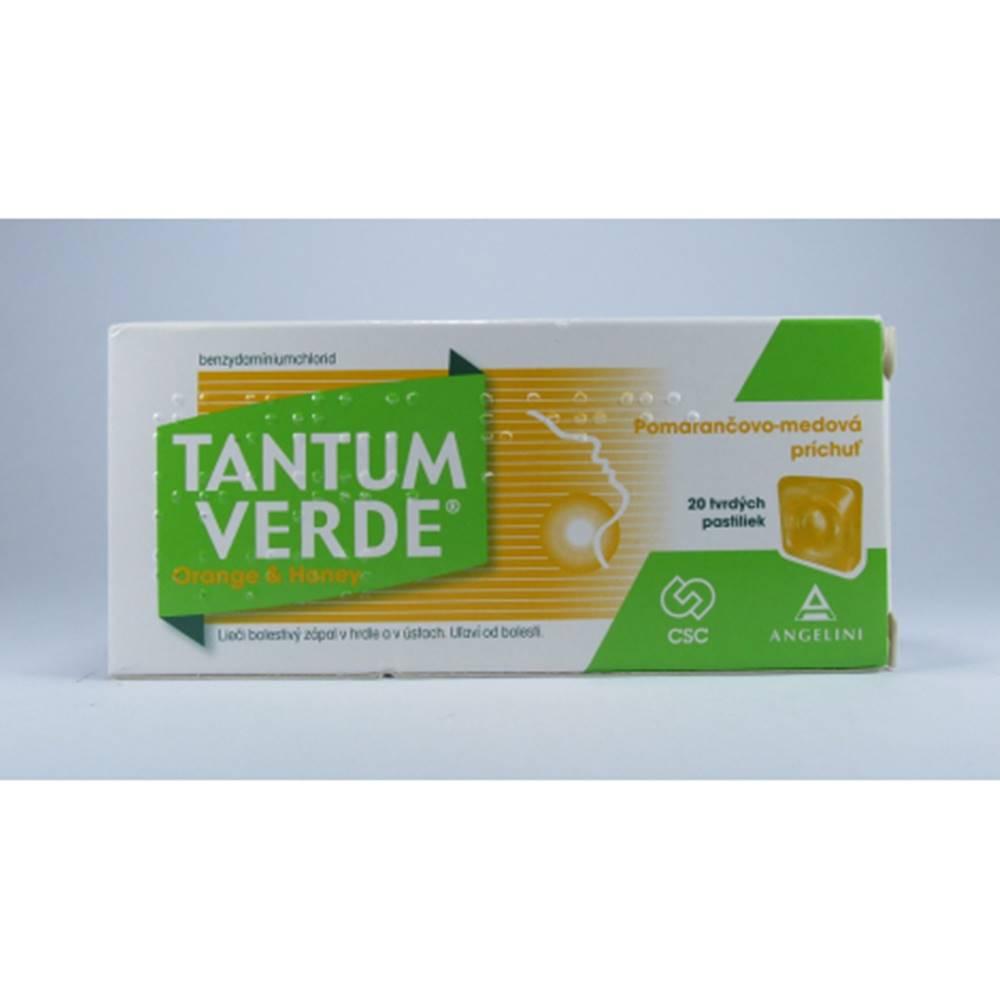 Tantum verde orange&honey pastilky 20 ks