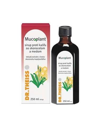 Mucoplant sirup proti kašlu so skorocelom a medom 250 ml