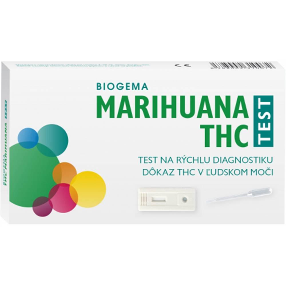 Biogema THC Marihuana drogový test na stanovenie drog v moči