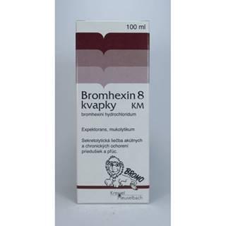 Bromhexin 8  kvapky KM 100 ml