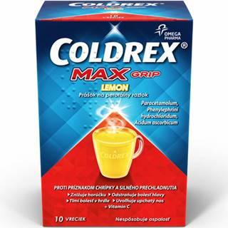 Coldrex MaxGrip Lemon 10 vrecúšok