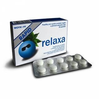 Relaxa RAPID pastilky 1x30 ks