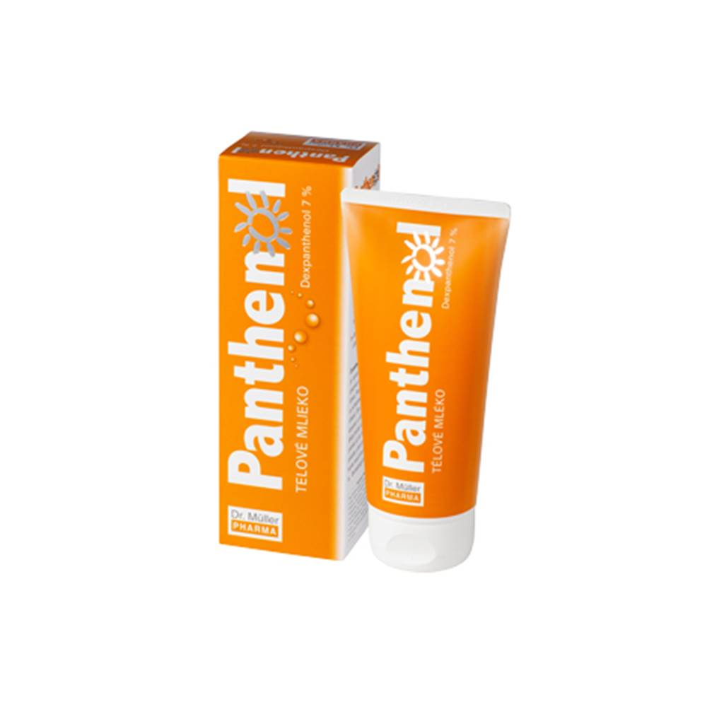Dr. Müller Panthenol telové mlieko 7% 200 ml