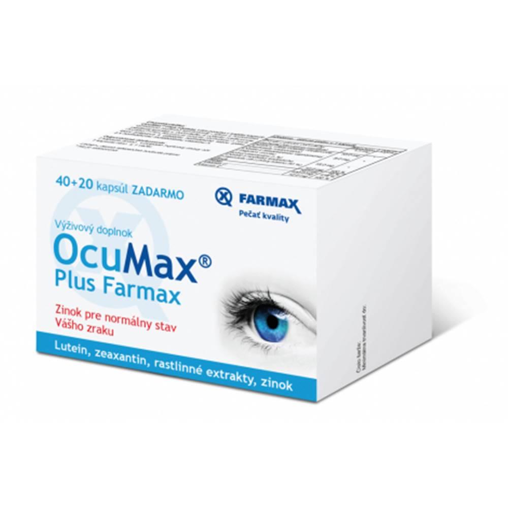 Farmax OcuMax Plus 40 + 20 cps ZDARMA