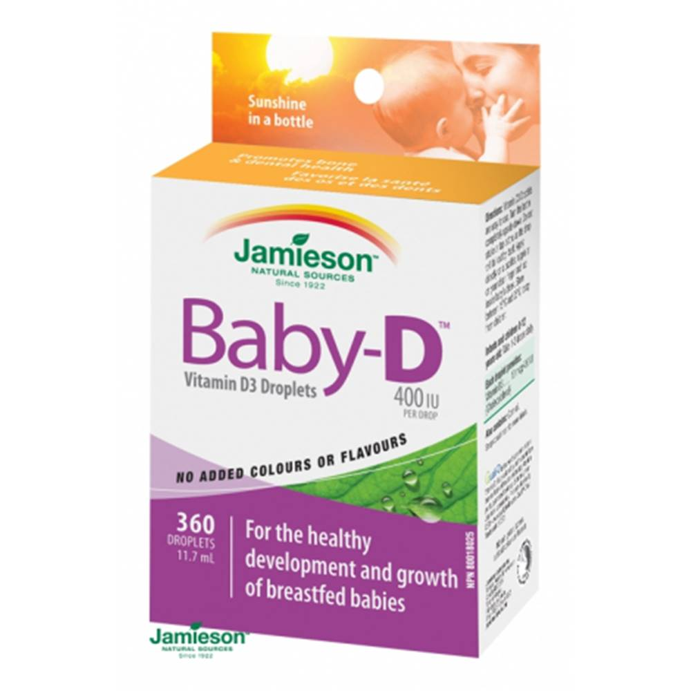 Jamieson Baby-D Vitamín D3 ...