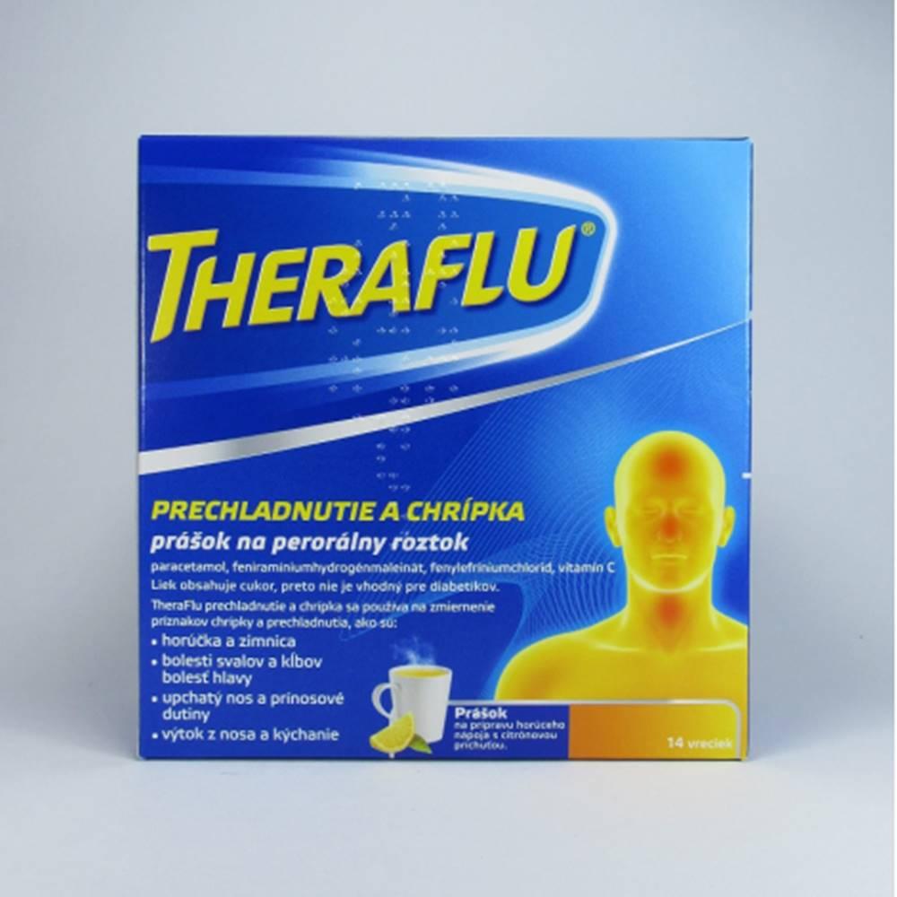 Theraflu prechladnutie a chrípka 14 vreciek