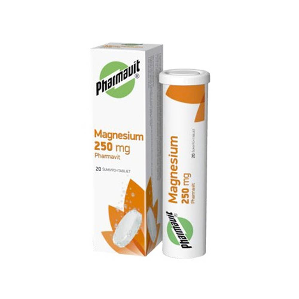 Walmark Magnézium 250 mg Pharmavit šumivé tablety