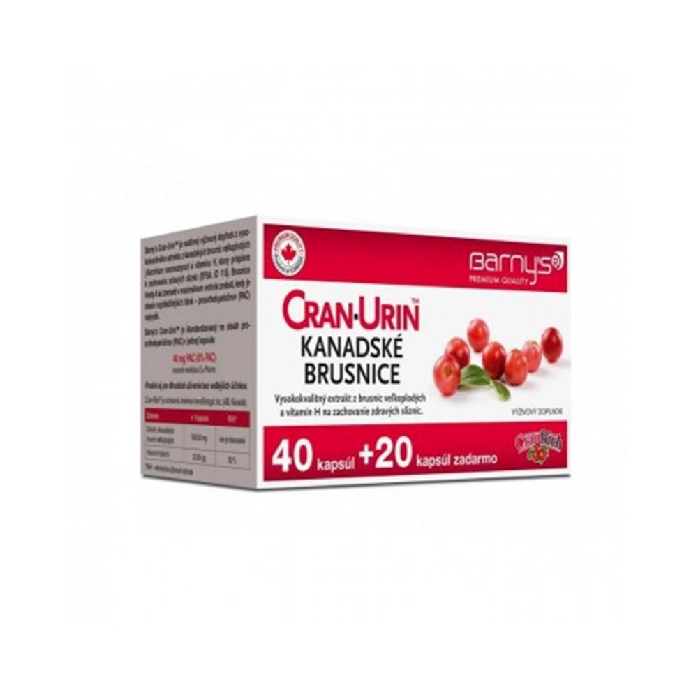 Barnys Cran-Urin Kanadské brusnice 40+20 cps