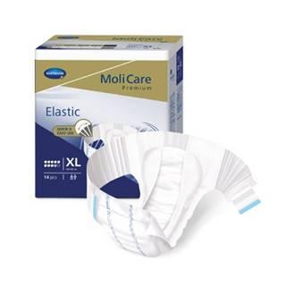 MoliCare Premium Elastic 9 kvapiek XL plienkové nohavičky zalepovacie 14 ks