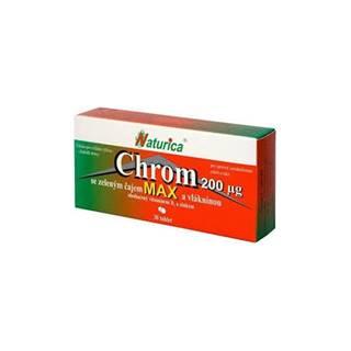 Naturica CHRÓM MAX so zeleným čajom a vlákninou (chróm 200 µg) 30 tbl
