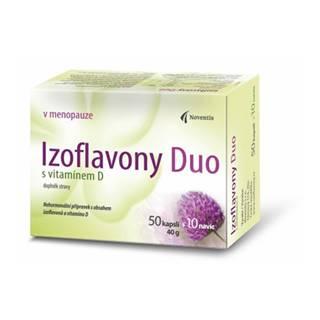 Noventis Izoflavóny Duo s vitamínom D 60 cps