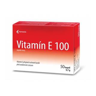 Noventis Vitamín E 100 mg 50 cps