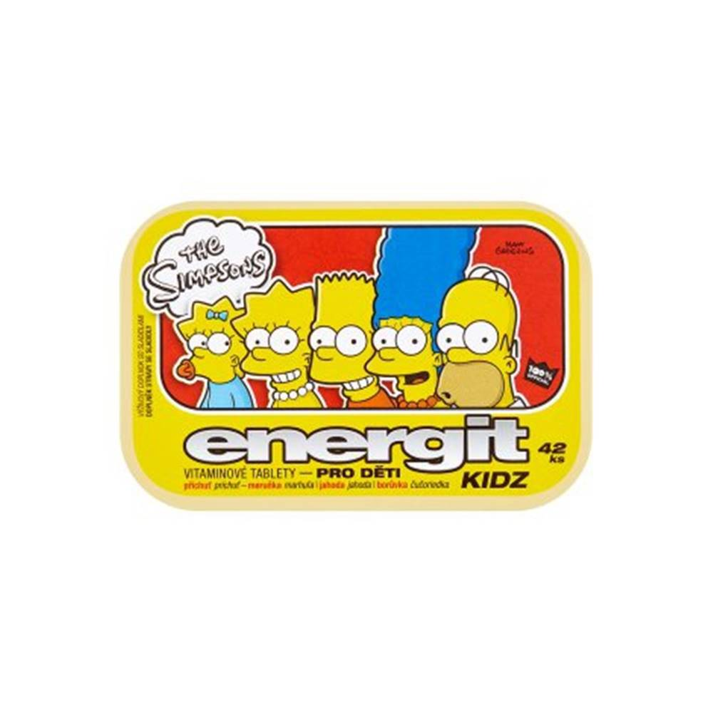 Energit KIDZ vitamínové tablety 42 tbl