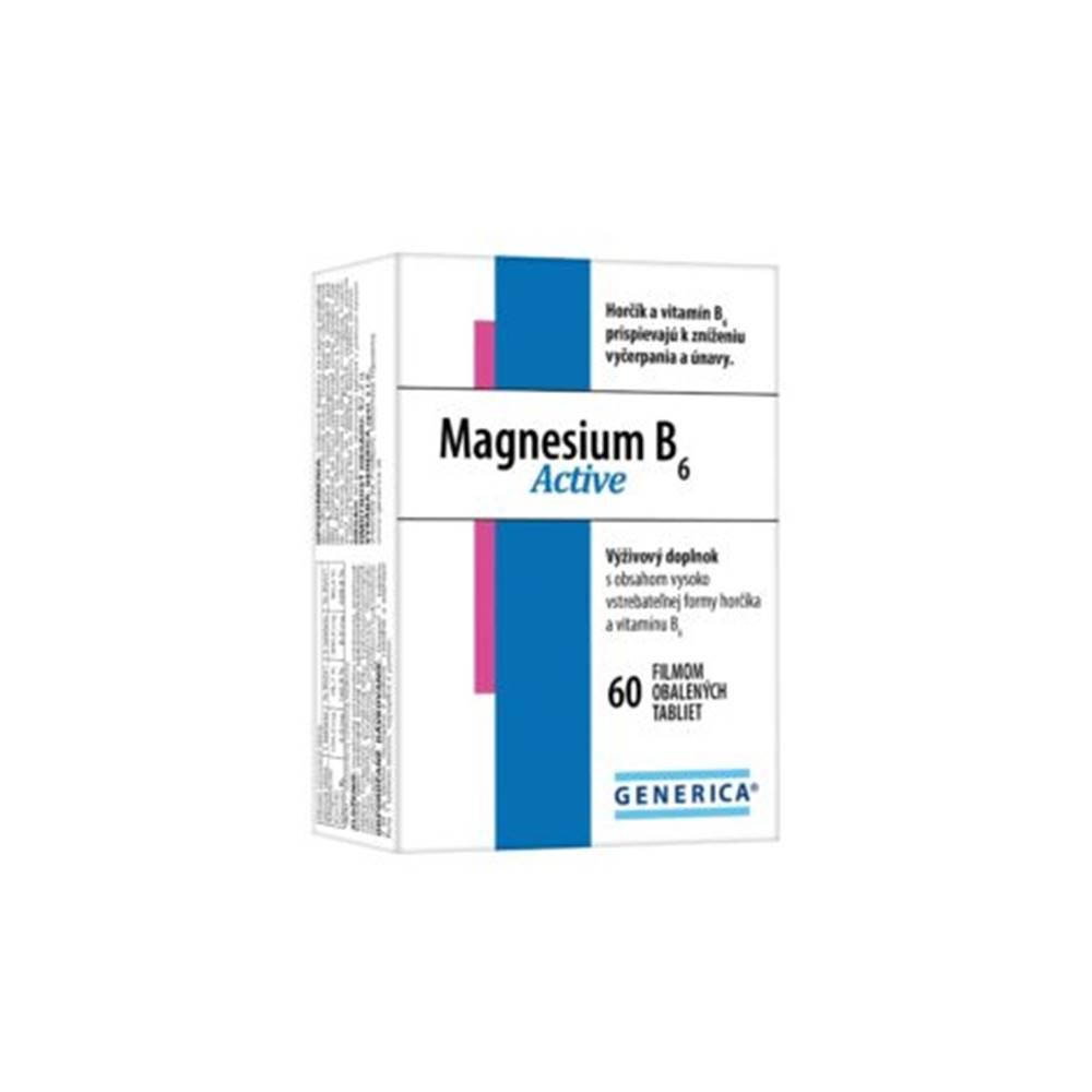 Generica Magnesium B6 Active 60 tbl
