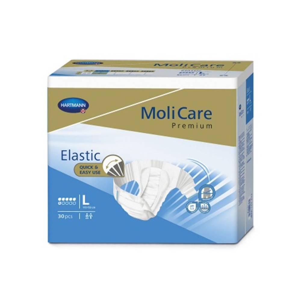 MoliCare Premium Elastic 6 kvapiek L plienkové nohavičky zalepovacie 30 ks