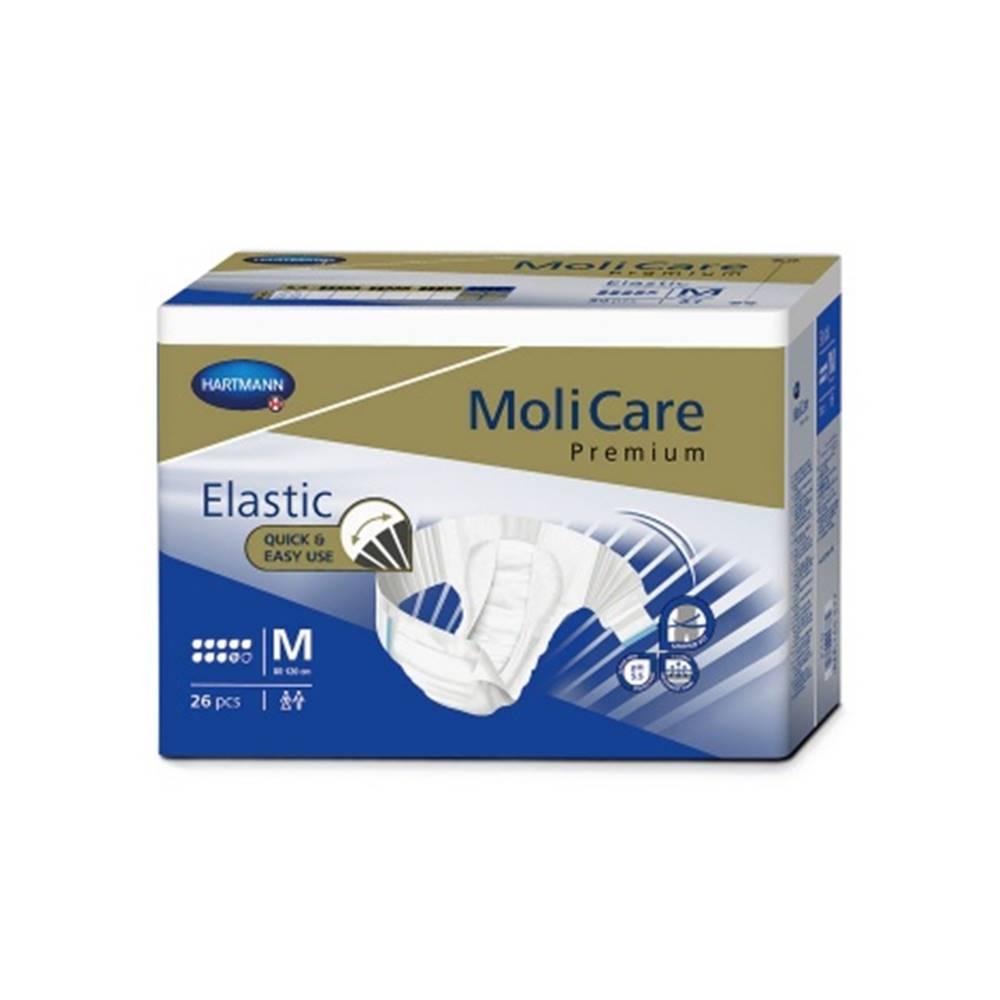 MoliCare Premium Elastic 9 kvapiek M plienkové nohavičky zalepovacie 26 ks